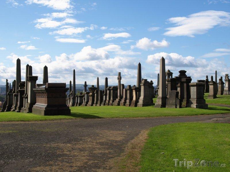 Fotka, Foto Hřbitov (Glasgow, Velká Británie)