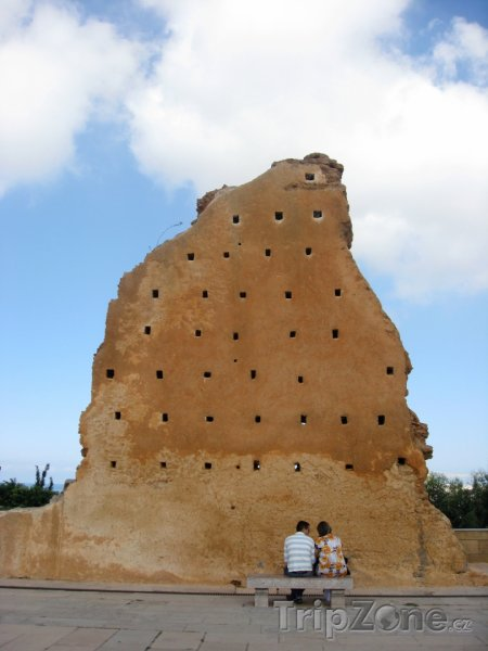 Fotka, Foto Hrobka Hassana II. (Rabat, Maroko)