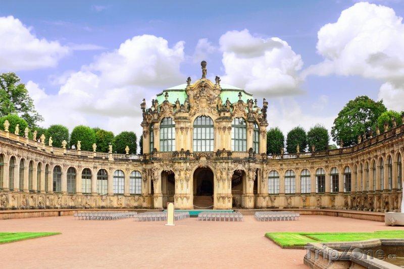 Fotka, Foto Hudební pavilón ve Zwingeru (Drážďany, Německo)