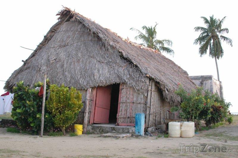 Fotka, Foto Indické obydlí (Panama)