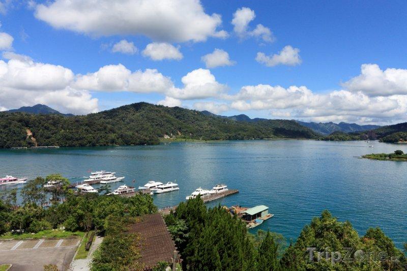 Fotka, Foto Jezero Sun Moon (Tchaj-wan)