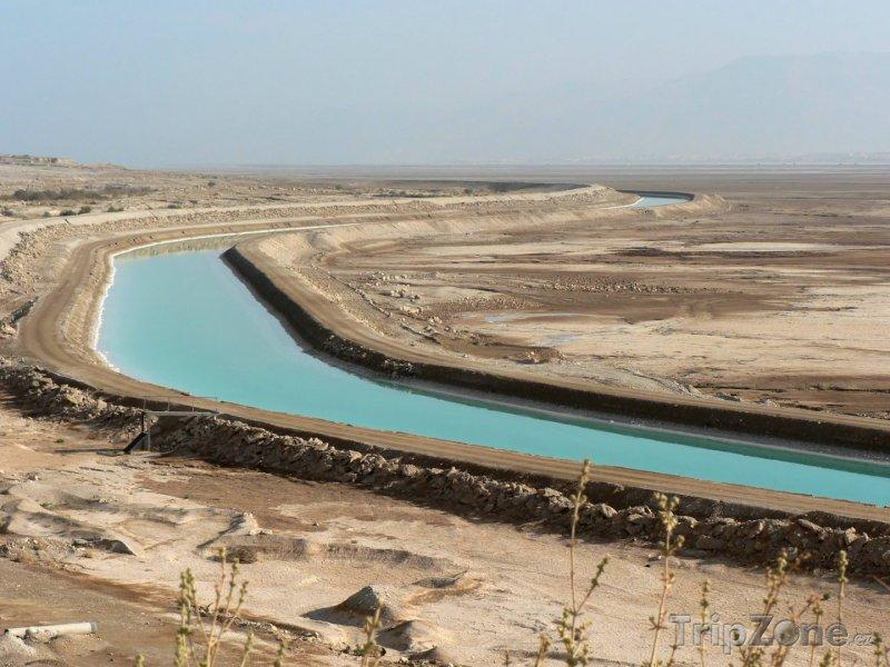Fotka, Foto Kanál mezi Mrtvým a Rudým mořem (Jordánsko)