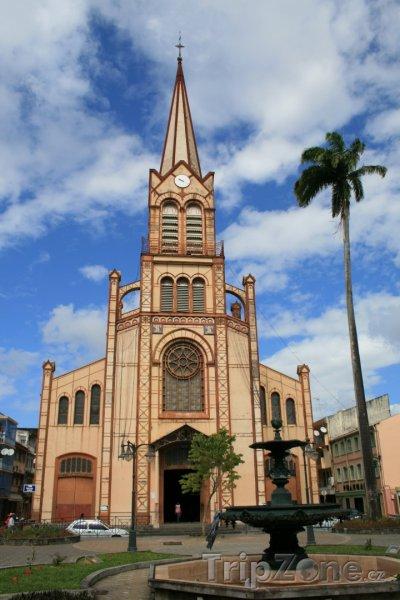 Fotka, Foto Katedrála Saint-Louis ve Fort-de-France (Martinik)