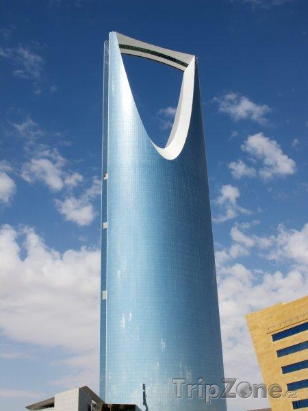 Fotka, Foto Kingdom Tower v Rijádu (Saúdská Arábie)