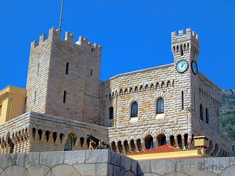 Fotka, Foto Knížecí palác v Monaku (Azurové pobřeží, Francie)