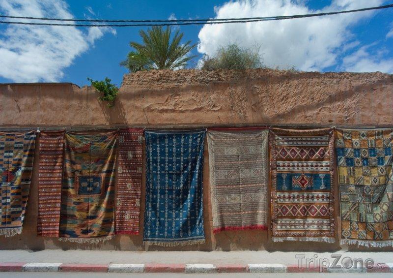 Fotka, Foto Koberce na prodej (Rabat, Maroko)