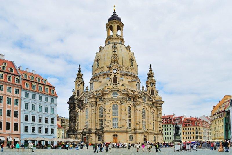 Fotka, Foto Kostel Frauenkirche (Drážďany, Německo)