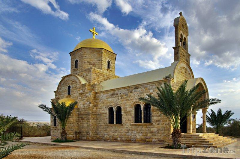 Fotka, Foto Kostel Sv. Jana Křtitele (Jordánsko)
