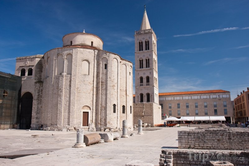 Fotka, Foto Kostel Svatého Donáta (Zadar, Chorvatsko)