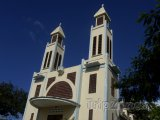 Kostel v obci Le Prêcheur