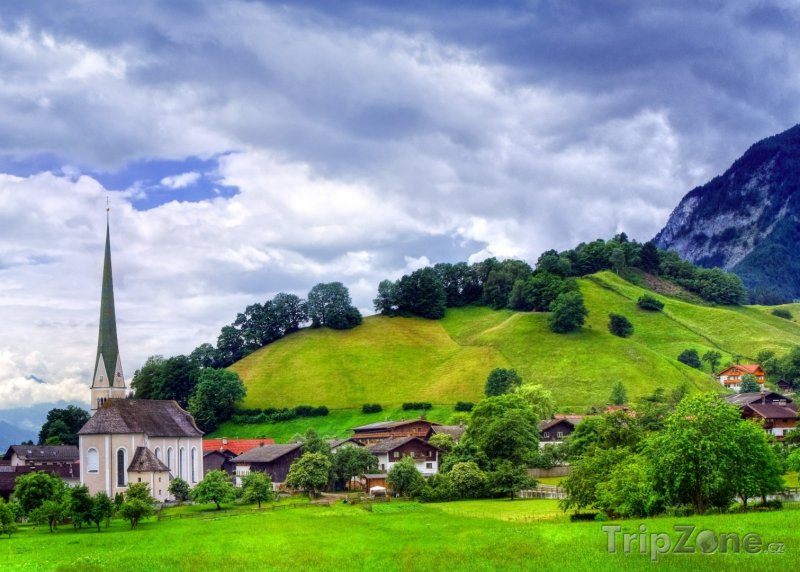 Fotka, Foto Krajina v okolí města (Innsbruck, Rakousko)