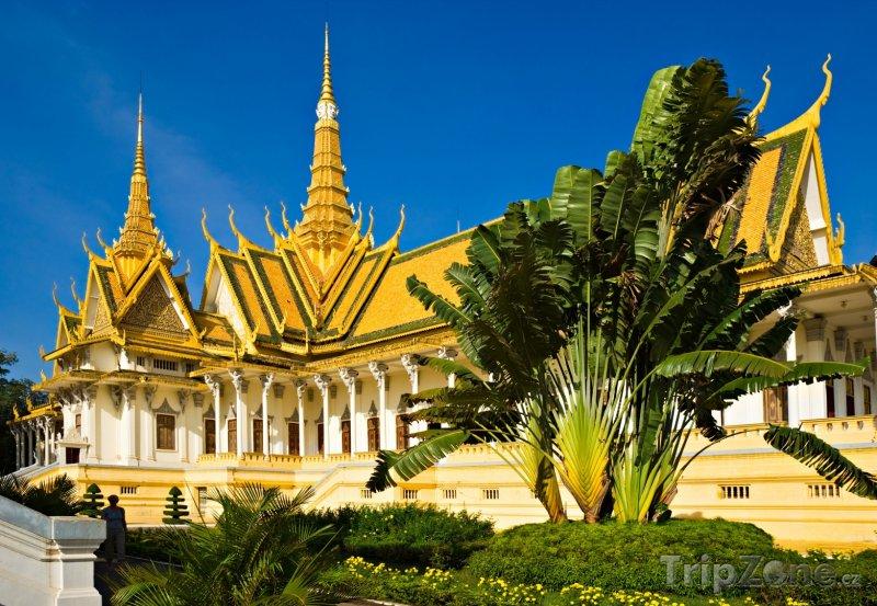 Fotka, Foto Královský palác ve městě Phnompenh (Kambodža)
