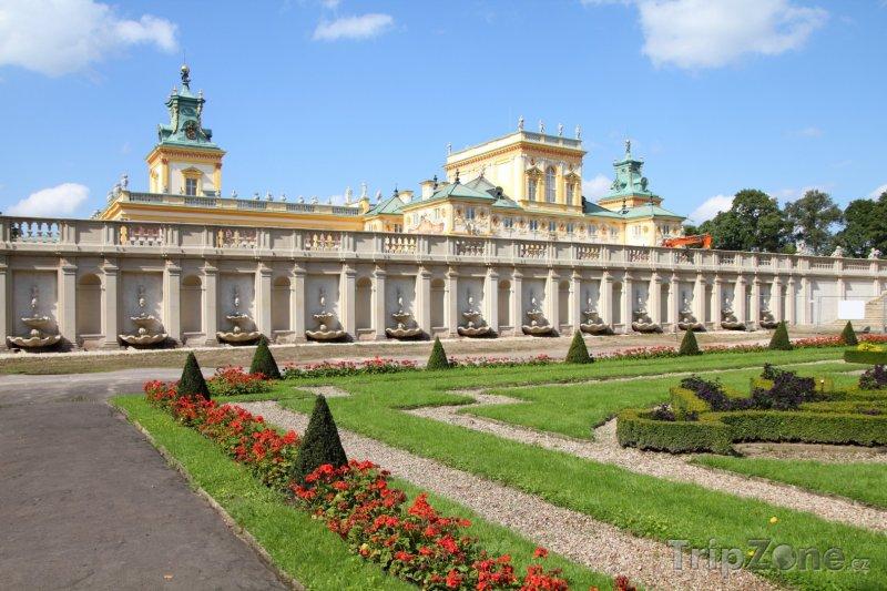 Fotka, Foto Královský palác Wilanów (Varšava, Polsko)