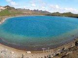 Kráterové jezero Graenavatn