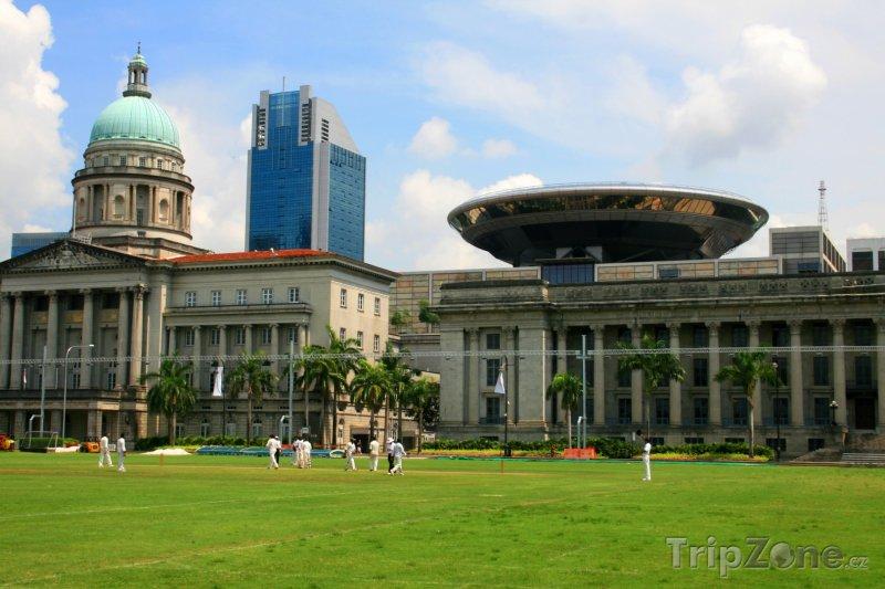 Fotka, Foto Kriketové hřiště (Singapur)