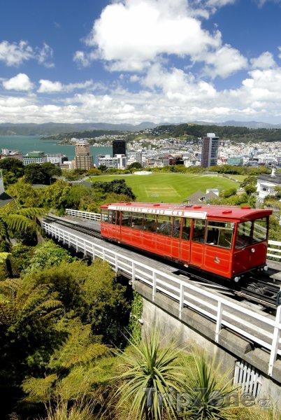 Fotka, Foto Lanová dráha (Wellington, Nový Zéland)