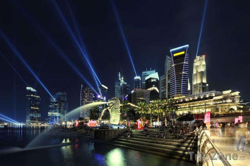 Fotka, Foto Laser show (Singapur)