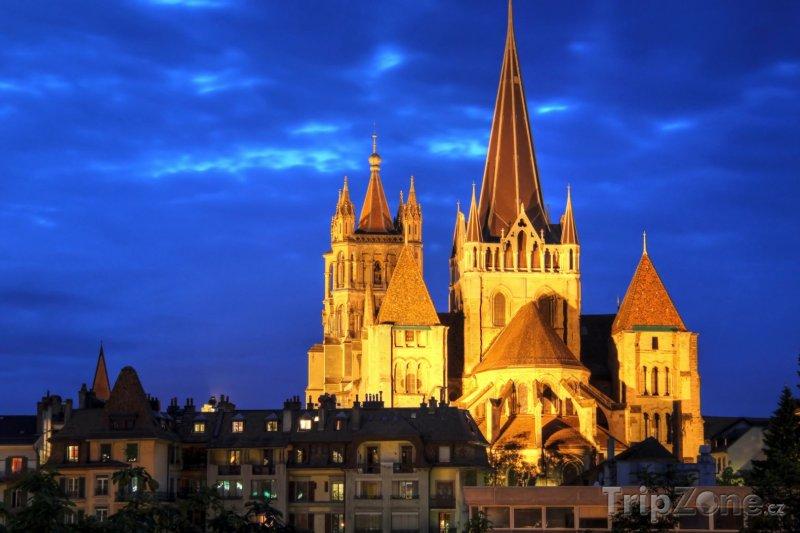Fotka, Foto Lausanne, katedrála Notre-Dame (Švýcarsko)