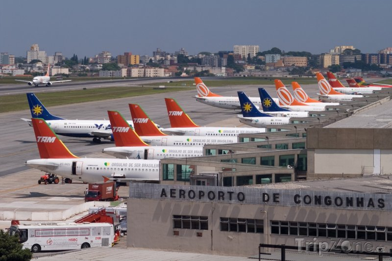 Fotka, Foto Letiště Congonhas (Sao Paulo, Brazílie)