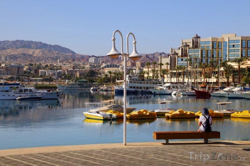 Fotka, Foto Lodě v přístavu (Ejlat, Izrael)
