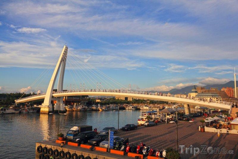 Fotka, Foto Lover Bridge of Tamsui (Tchaj-wan)