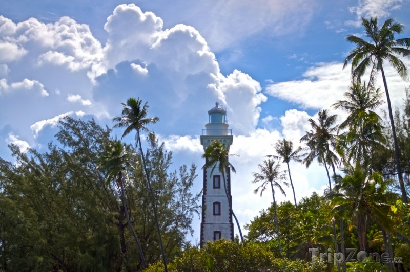 Fotka, Foto Maják na Tahiti (Francouzská Polynésie)