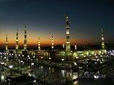 Mešita Al-Masjid al-Nabawi ve městě Medina