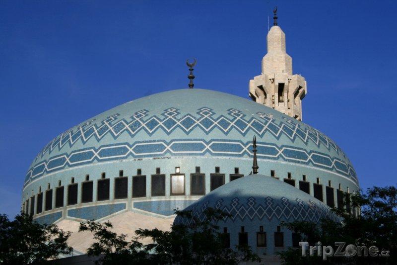Fotka, Foto Mešita krále Abdulláha v Ammánu (Jordánsko)