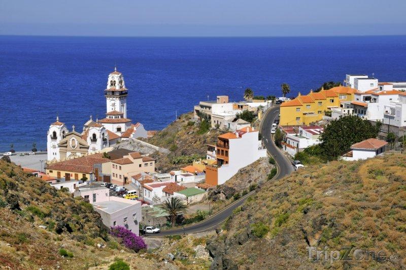 Fotka, Foto Městečko Candelaria (Tenerife, Španělsko)