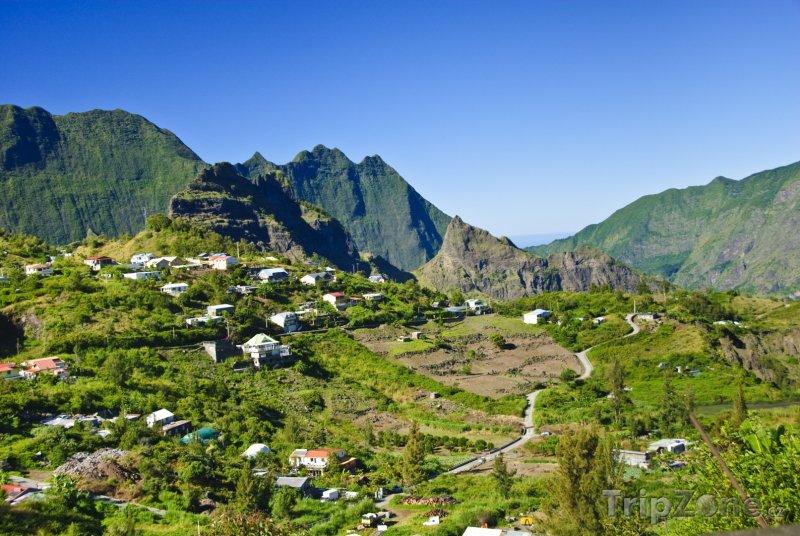 Fotka, Foto Městečko Cilaos (Réunion)