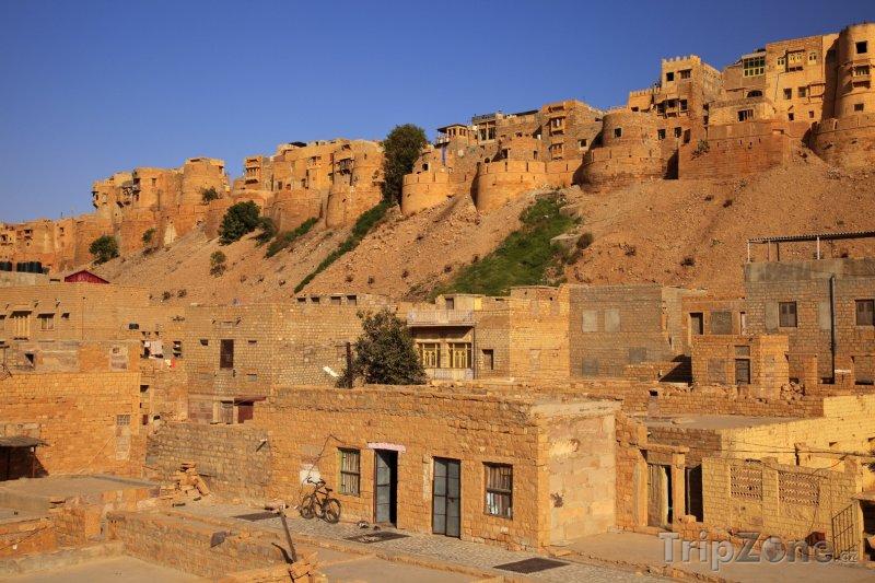 Fotka, Foto Město Jaisalmer (Indie)