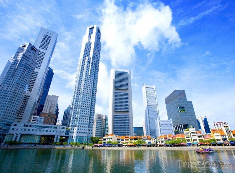 Fotka, Foto Moderní mrakodrapy (Singapur)