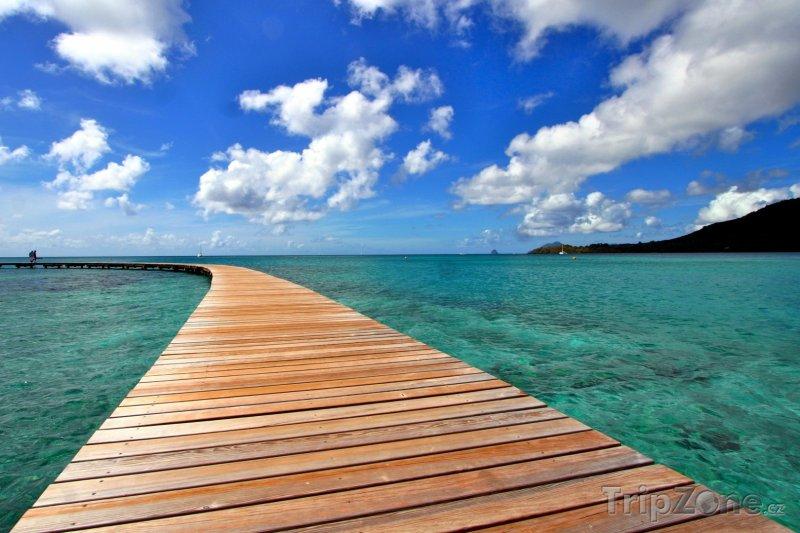 Fotka, Foto Molo na moři (Martinik)