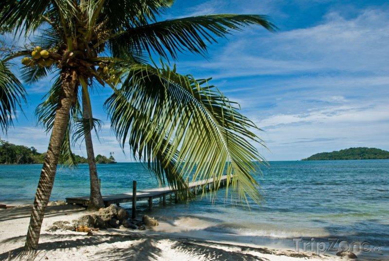 Fotka, Foto Molo ve městě Bocas del Toro (Panama)