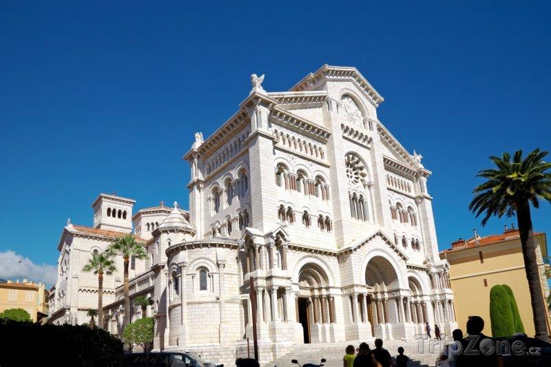 Fotka, Foto Monako, katedrála sv. Mikuláše (Azurové pobřeží, Francie)