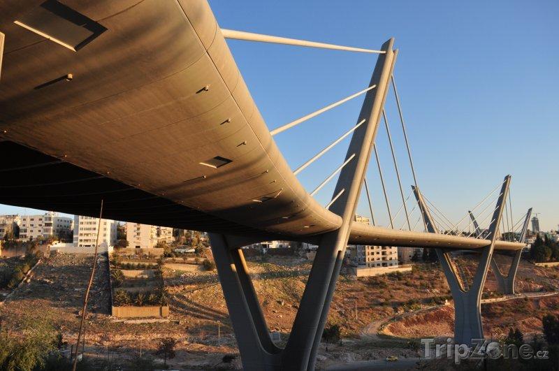 Fotka, Foto Most Abdoun v Ammánu (Jordánsko)