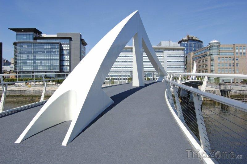Fotka, Foto Most Tradeston (Glasgow, Velká Británie)