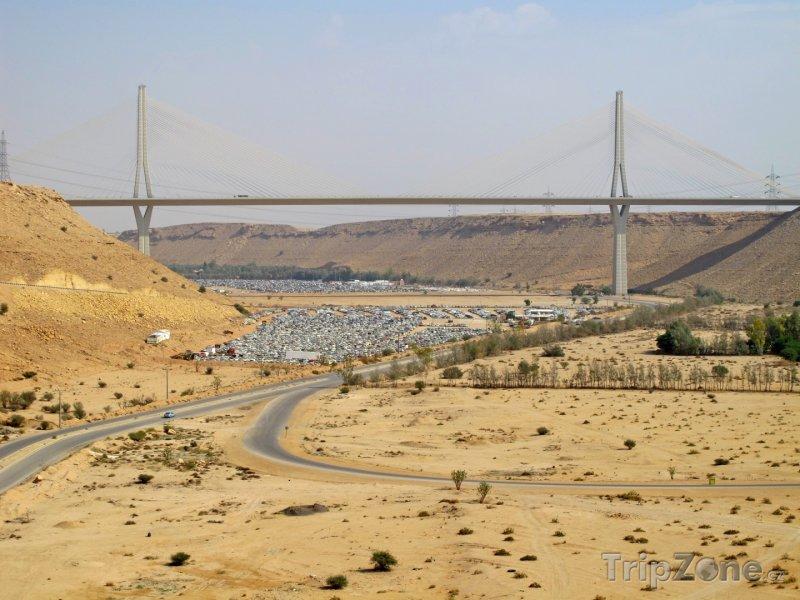 Fotka, Foto Most v poušti (Saúdská Arábie)
