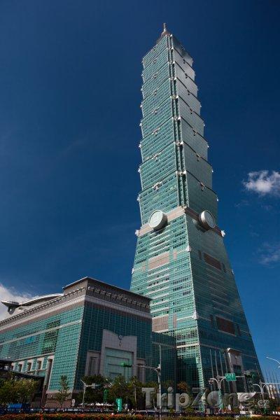 Fotka, Foto Mrakodrap Tchaj-pej 101 (Tchaj-wan)