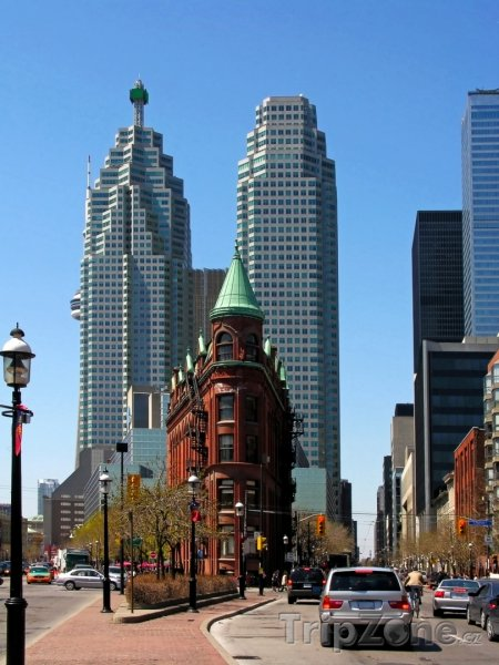 Fotka, Foto Mrakodrapy v komplexu Brookfield Place (Toronto, Kanada)