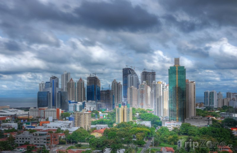 Fotka, Foto Mrakodrapy v Panama City (Panama)