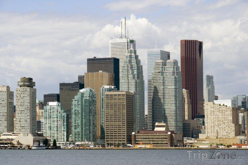 Fotka, Foto Mrakodrapy ve finanční oblasti (Toronto, Kanada)