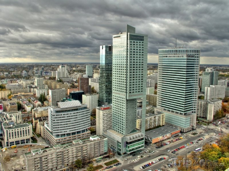 Fotka, Foto Mrakodrapy (Varšava, Polsko)