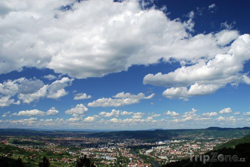 Fotka, Foto Mraky nad Banja Lukou (Bosna a Hercegovina)