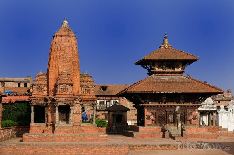 Fotka, Foto Náměstí Durbar ve městě Bhaktapur (Nepál)