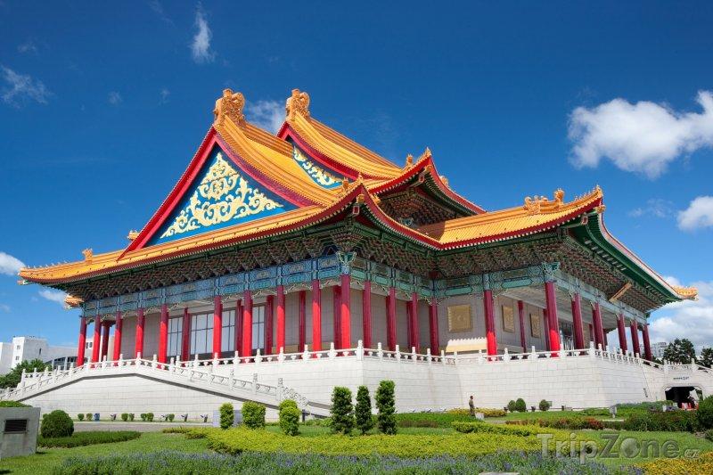 Fotka, Foto Národní divadlo ve městě Taipei (Tchaj-wan)