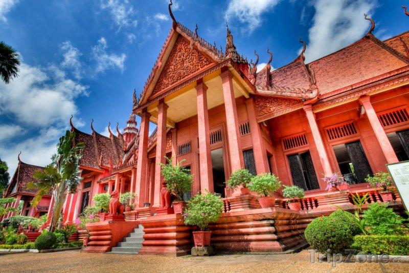 Fotka, Foto Národní muzeum ve městě Phnompenh (Kambodža)