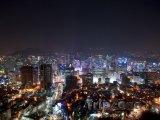 Noční město Soul