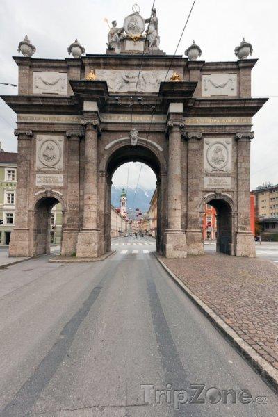 Fotka, Foto Oblouk (Innsbruck, Rakousko)