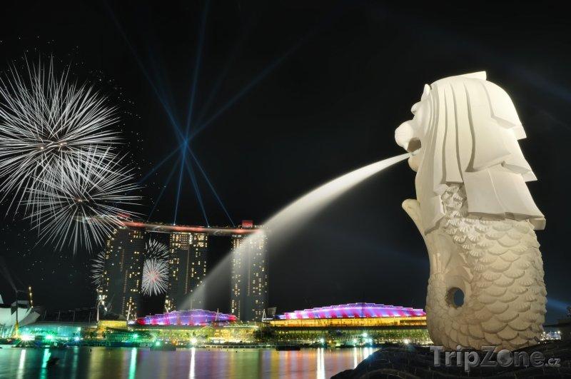 Fotka, Foto Ohňostroj (Singapur)